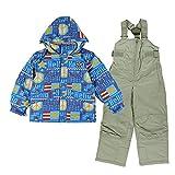 (CCL TEAM) トドラー スキー スーツ 3657660 1610 キッズ 子供 子ども (63)BLUE 100