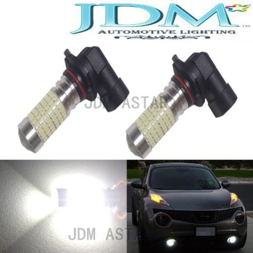 Jdm Astar 1200 Lumens Extremely Bright 144-Ex Chipsets Hb3 9005 Led Bulbs With Projector For Drl Or Fog Lights, Xenon White