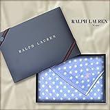 ラルフローレン 【RALPH LAUREN】 バスタオルギフト カラーを選択,4・カントリードット(ブルー)