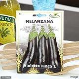 HORTUS イタリア野菜の種 ナス・ルンガ2 Art.3561 家庭菜園