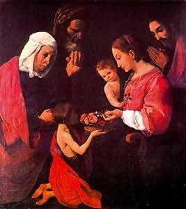 Ana, san Joaquín y san Juan Bautista: Oil Paintings: Oil Paintings