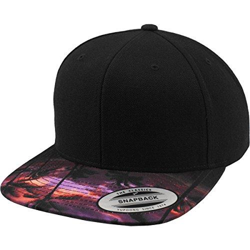 Sunset Peak Snapback black one size