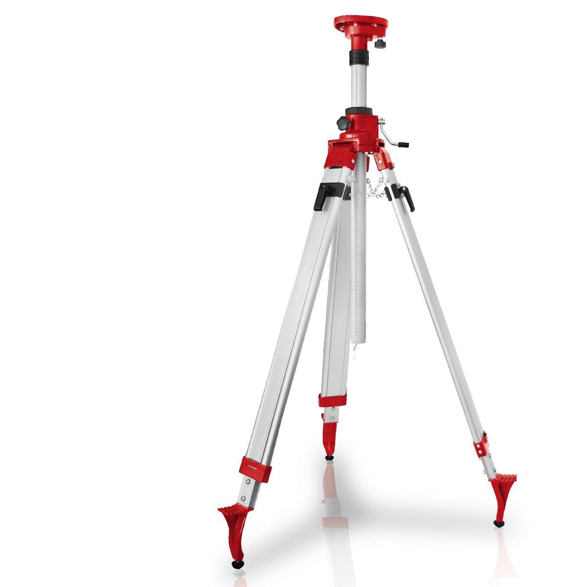 Berlan Kurbelstativ für Laser und Nivelliergeräte 1,20  2,40 m  BaumarktRezension