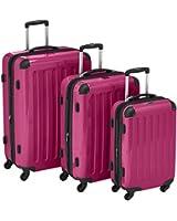Hauptstadtkoffer  Sets de bagages, 75 cm, 235 L, Rose