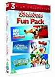 Ice Age: A Mammoth Christmas / The Pebble and the Penguin / An All Dogs Christmas Carol Christmas Fun Pack [DVD] [1995]