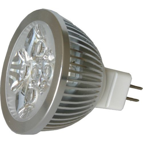 Sodial(R) Led Mr16 Spotlight 12V 4W (340 Lumen - 50 Watt Equivalent) 3200K Warm 45 Degree Beam Angle