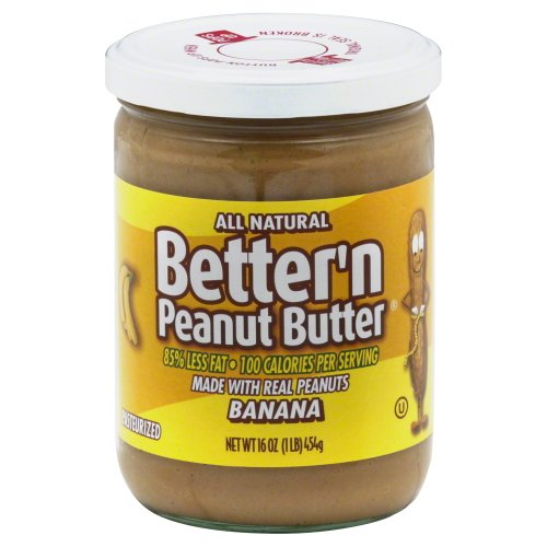 Better N Peanut Butter Peanut Banana Spread 16.0 Oz (Pack of 3)