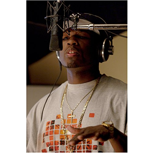 get-rich-or-die-tryin-8x10-photo-50-cent-in-recording-studio-at-microphone-kn