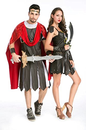 DoLoveY Women's Men's Pirate Costumes Halloween