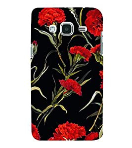 Floral Painting 3D Hard Polycarbonate Designer Back Case Cover for Samsung Galaxy J3 (6) J320F :: Samsung Galaxy J3 (2016)