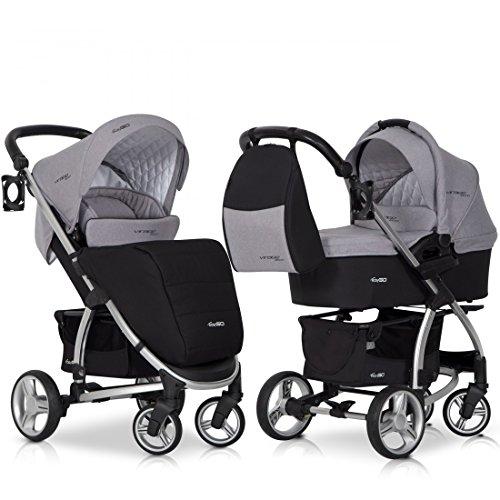 amazon kinderwagen kinderwagen beige kinderwagen abc. Black Bedroom Furniture Sets. Home Design Ideas