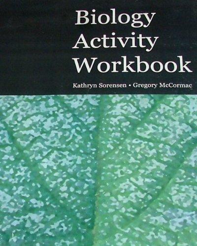 BIOLOGY ACTIVITY WORKBOOK