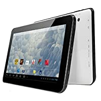 "Digital Reins 10.1"" Inch Quad Core Android 4.4 Tablet PC with Dual Cameras 1GB RAM 8GB HDD and Bluetooth"