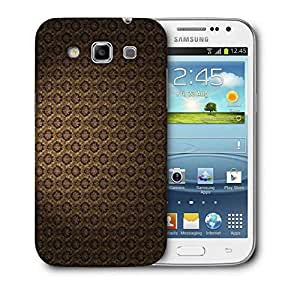 Snoogg Brown Pattern Layer Printed Protective Phone Back Case Cover For Samsung Galaxy Samsung Galaxy Win I8550 / S IIIIII