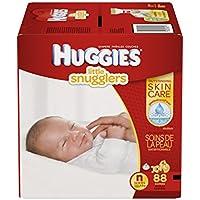 88 Count Huggies Little Snugglers Baby Diapers - Newborn