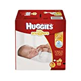 Huggies Little Snugglers Baby Diapers, Size Newborn, 88 Count (Packaging...