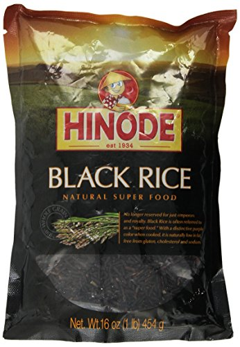 Hinode Black Rice - Natural Super Food 16 oz (1 pound) 454g (Hinode Rice compare prices)