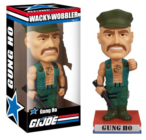 Picture of Funko G.I. Joe Classic Gung Ho Wacky Wobbler Figure (B002NIPE8A) (G.I. Joe Action Figures)