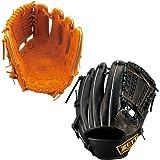 2014年新モデル!2014年新モデル ZETT プロステイタス 軟式 野球用 グラブ 二塁手・遊撃手用 右投用 BRGB30410 サイズ2 (ブラック(1900))