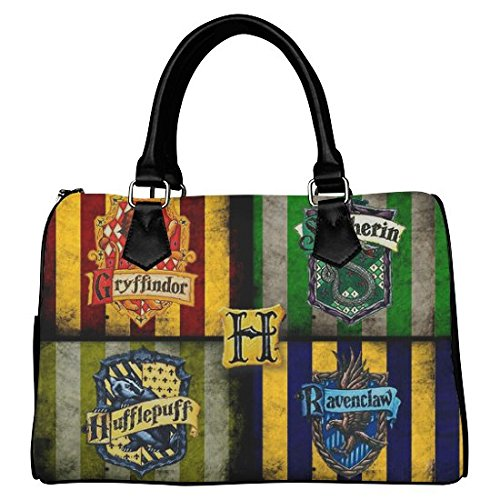 Custom Harry Potter Leather Canvas Handbag  Tote Bag  Purse for Women Twin  Sides    iHomeStore. iHomeStore Custom Harry Potter Leather Canvas Handbag  Tote Bag