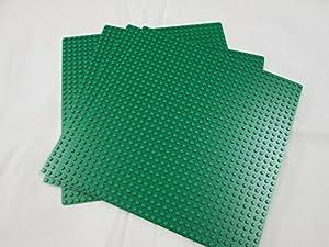 "LEGO® Base 32 x 32 Stud Building Plate 10"" x 10"" Platform - Green   626"