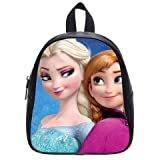 Generic Disney Frozen 01 Printed School Bag Backpack PU Leather Small