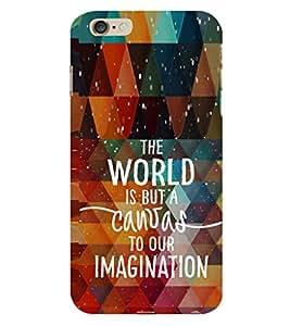 EPICCASE Imagination is creative Mobile Back Case Cover For Apple iPhone 6 Plus (Designer Case)