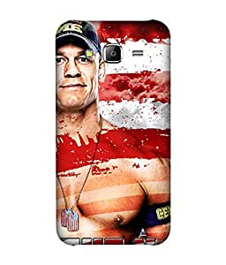 small candy 3D Printed Back Cover For Samsung Galaxy On7 -Multicolor john cena