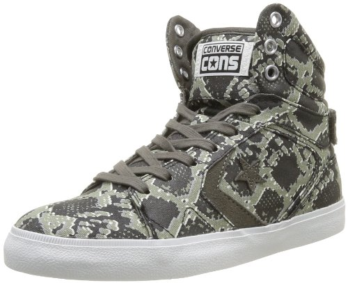 CONVERSE Unisex-Adult All Star 12 Snake Mid Trainers 363880-52-122 Anthracite/Multi 4.5 UK, 37 EU
