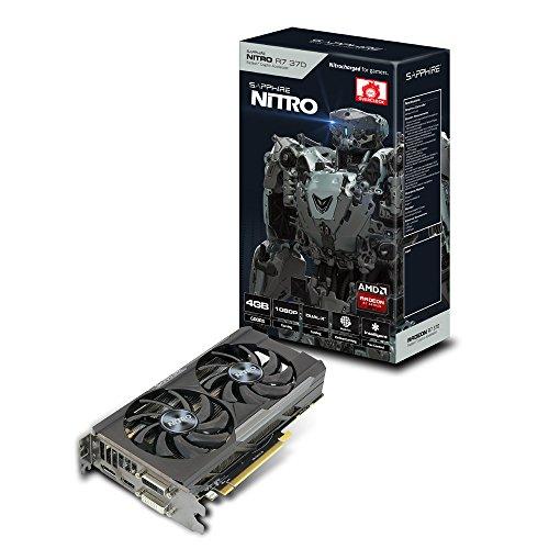 Sapphire Radeon R7 370 Scheda Video da 4 GB, Nero