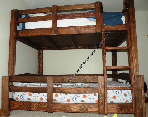 Bunk Bed Paper Plans So Easy Beginners Look Like Experts