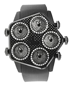 Jacob & Co. Global GL3-24 Black Carbon Fiber White 3.725Ct Diamond Watch