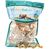 Curly Bully Sticks Dog Treats - 50 Pack