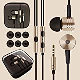 BlueInk Mi Piston Aluminium Alloy Design In-Ear Headphone For MI Samsung HTC Apple And All Other Smartphones (...