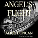Angel's Flight: A Mercy Allcutt Mystery (Five Star First Edition Mystery) (       UNABRIDGED) by Alice Duncan Narrated by Darlene Allen