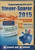 Software - Steuersparer 2015 f�r die Steuererkl�rung 2014