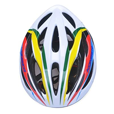 Universal Fit Adult Men Women cycle Helmet Adjustable Bicycle Bike helmet in mixed color size:53-61cm by Guanshi