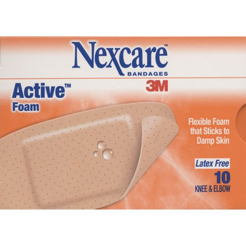 Nexcare bandages 3M Active foam Knee and Elbow