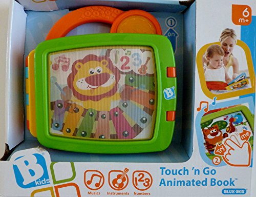 B Kids Touch 'N Go Animated Book - 1