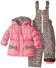 Pink Platinum Baby Girls' Leopard Pri…
