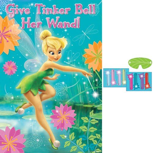 Amscan Tinker Bell Best Friends Fairies Party Game, Multicolor