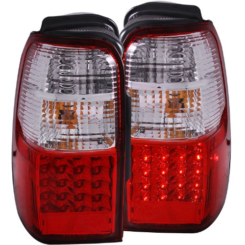 Anzo Usa 311070 Toyota 4Runner Red/Clear Led Tail Light Assembly - (Sold In Pairs)