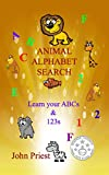 Animal Alphabet Search: Learn your ABC's and 1,2,3's