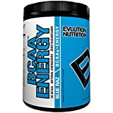 Evlution Nutrition BCAA Energy - High Performance, Energizing Amino Acid Supplement for Muscle Building, Recovery, and Endurance (40 Servings) (Blue Raz)
