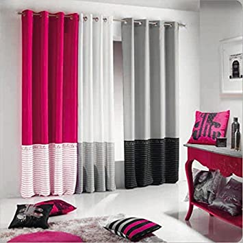 amazon rideau rose. Black Bedroom Furniture Sets. Home Design Ideas