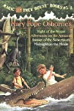 img - for Magic Tree House Boxed Set, Books 5-8: Night of the Ninjas, Afternoon on the Amazon, Sunset of the Sabertooth, and Midnight on the Moon book / textbook / text book