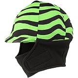 Tough-1 Lycra Helmet Cover w/ Fleece Neck & Ear Warmers in Prints