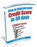 51adtg587PL. SL160  How to Improve Your Credit Score in 30 days: credit repair, credit score,