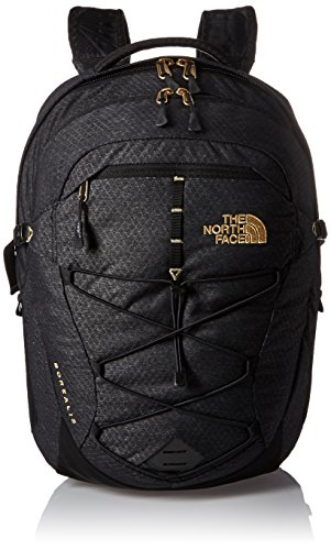 The North Face W Borealis Zaino da Escursionismo, 47 Cm, 25.0 Litri, Colore Tnf Black/Gold