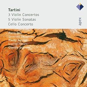Tartini: 3 Violin Concertos, 5 Violin Sonatas & Cello Concerto